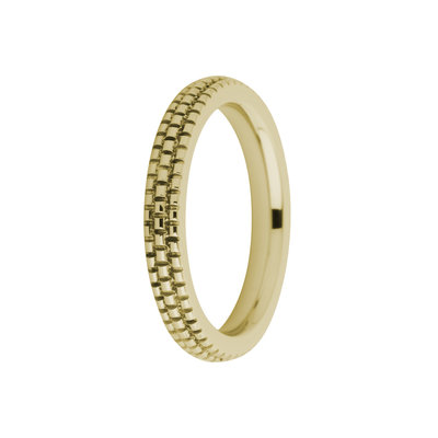MelanO Friends Ring Sarah Edelstaal Goud Refined