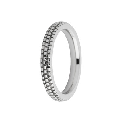 MelanO Friends Ring Sarah Edelstaal Zilver Refined