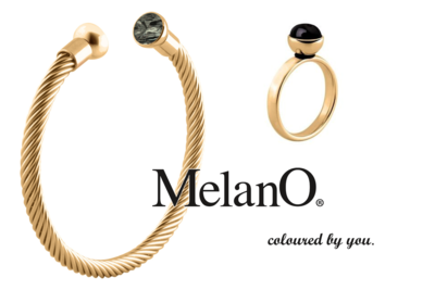 MelanO Inspiratie Set, MelanO Twisted Black Shades Turn into Gold