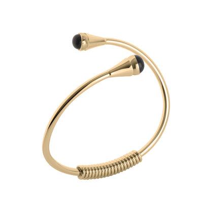 MelanO Twisted Telma Armband Edelstaal Goud
