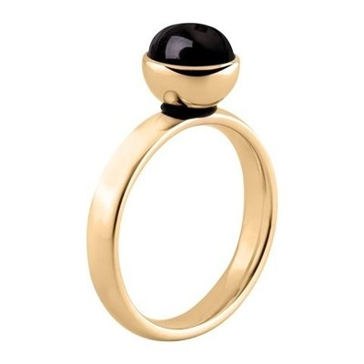 MelanO Twisted Tracey Edelstaal Ring Goud