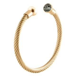 MelanO Twisted Taylor Edelstaal Armband Taylor Goud