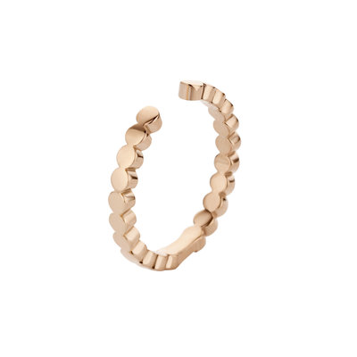 MelanO Twisted Ring Tina Edelstaal Rose Goud