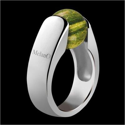 MelanO Cat Ring 10mm Zilver