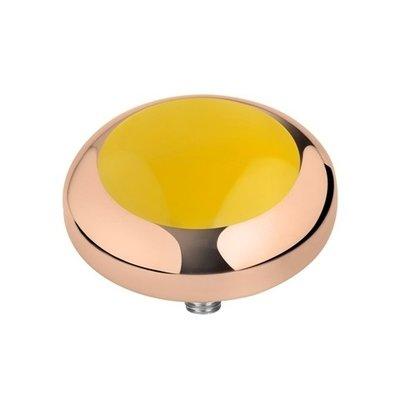 Melano Vivid Meddy Edelstaal Rose Goudkleurig Yellow