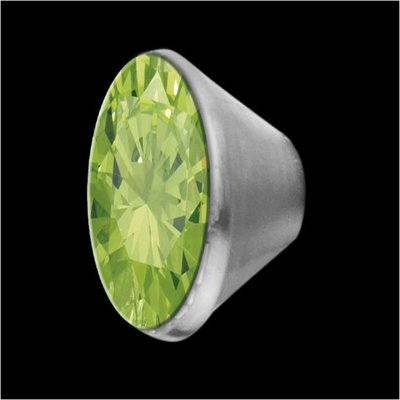 MelanO Stainless Steel Setting Conisch Lime