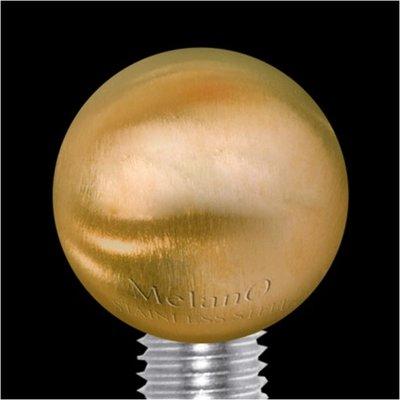 Melano Sturdy Meddy Ball Goudkleurig Mat