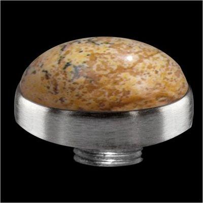 Melano Sturdy Meddy GEM Stone Picture Jasper