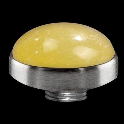 Melano Sturdy Meddy GEM Stone Yellow Calcite