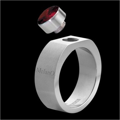 Melano Stainless Steel Ring for Meddy Square 6mm