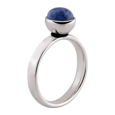 MelanO Twisted Tracey Ring Edelstaal Zilver