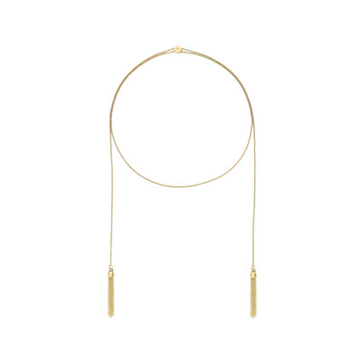 Melano Twisted Ketting Thalia Limited Edition Edelstaal Goud