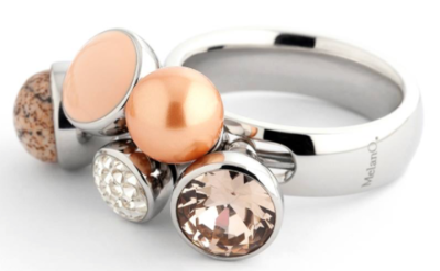 MelanO Inspiratie Set, MelanO Tess in the Early Morning (Zilver, Goud of Rose)