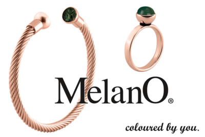 Melano Inspiratie Set, Melano Twisted Olives & Roses