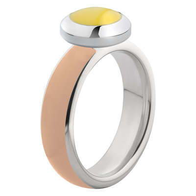 Melano Vivid Ring Stainless Steel Silver-coloured Nude