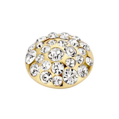 Melano Vivid Multi Zirkonia Meddy 11mm Goudkleurig Crystal