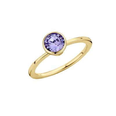 Melano Twisted Ring Goudkleurig Petit 1mm