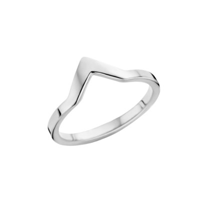 Melano Friends Ring Zilverkleurig Pointed