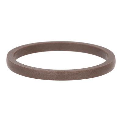 iXXXi Ring 2mm Keramisch Bruin