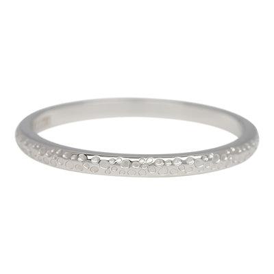 iXXXi Ring 2mm Edelstaal Dancer Zilverkleurig