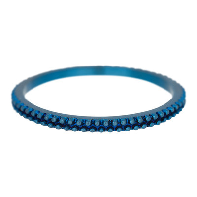 iXXXi Ring 2mm Edelstaal Kaviaar Blauw