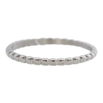 iXXXi Ring 2mm Edelstaal Bolletjes Zilverkleurig