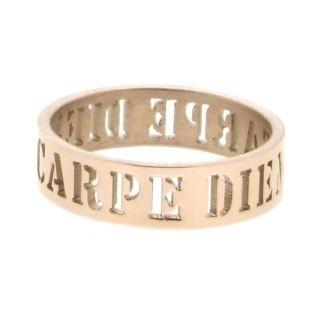 iXXXi Ring 6mm Rose Goudkleurig Open Carpe Diem