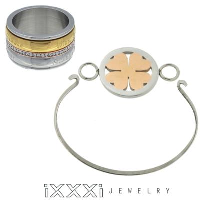 iXXXi Ring en Armband Combinatie  inclusief 1 iXXXi Bangle Meddy