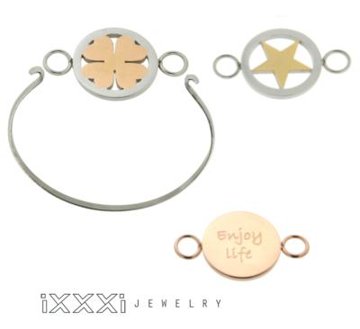 iXXXi Bangle Armband inclusief 3 iXXXi Bangle Meddy's naar keuze naar keuze