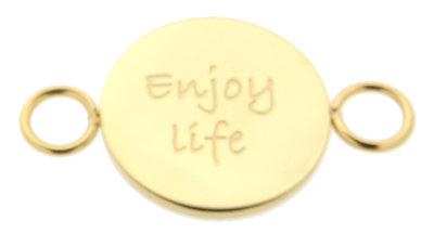 iXXXi Bangle Meddy  Enjoy Life Edelstaal Goudkleurig