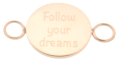 iXXXi Bangle Meddy  Follow Your Dreams Edelstaal Rose Goudkleurig
