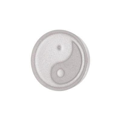 iXXXi Top Part Yin & Yang Zilver-kleurig