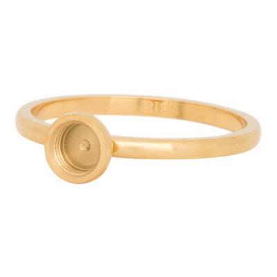 iXXXi Ring 2mm Top Part Basis Ring Goud-kleurig