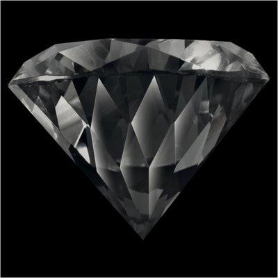 Melano Brilliant Zirkonia Stones Black