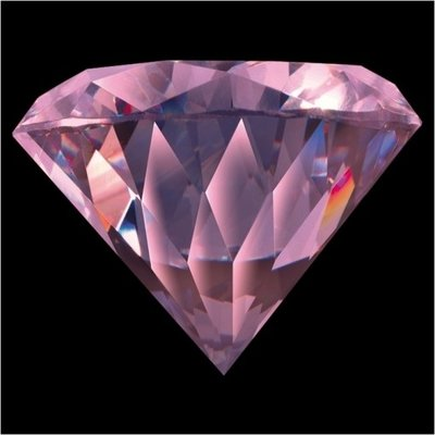 Melano Brilliant Zirkonia Stones Pink