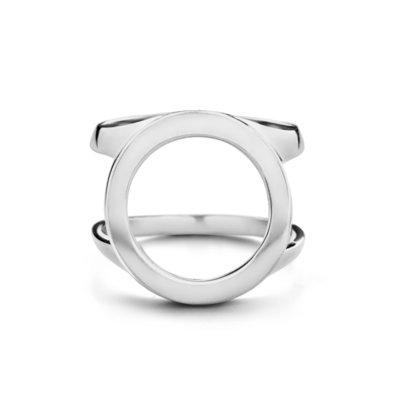 Melano Friends Cover Ring Zilverkleurig