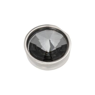 iXXXi Top Part Pyramid Black Diamond Zilverkleurig