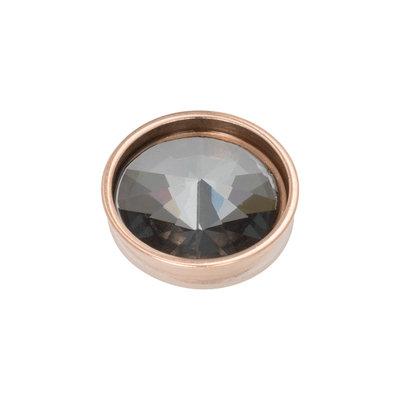 iXXXi Top Part Pyramid Black Diamond Rose Goudkleurig