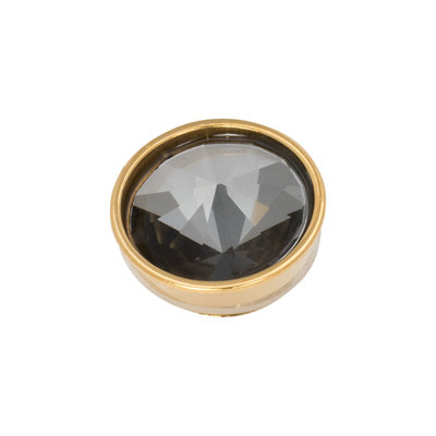 iXXXi Top Part Pyramid Black Diamond Goudkleurig