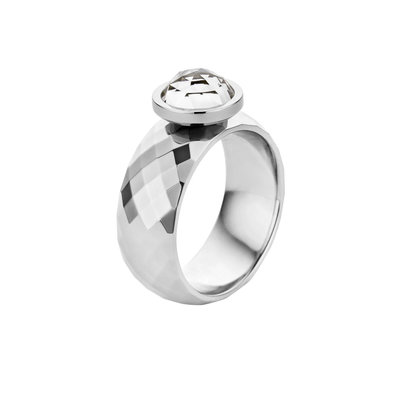 Melano Vivid Ring Vai Stainless Steel Silver-coloured