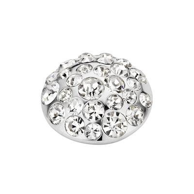 Melano Vivid Multi Zirkonia Meddy 11mm Zilverkleurig Crystal
