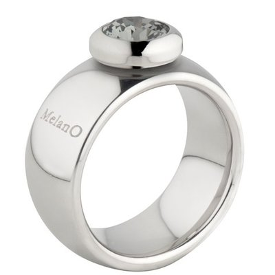Melano Vivid Ring Vicky 10mm Stainless Steel Silver-coloured