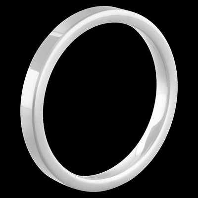 Melano Keramische Side Ring Glans Wit