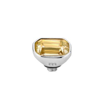 Melano Twisted Meddy 6mm Pillow Zilverkleurig Gold-coloured Shadow