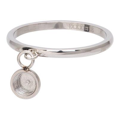 iXXXi Ring 2mm Top Part Basis Ring Dancing Zilverkleurig