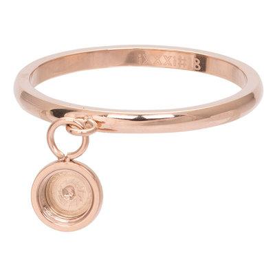 iXXXi Ring 2mm Top Part Basis Ring Dancing Rose Goudkleurig