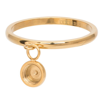 iXXXi Ring 2mm Top Part Basis Ring Dancing Goudkleurig