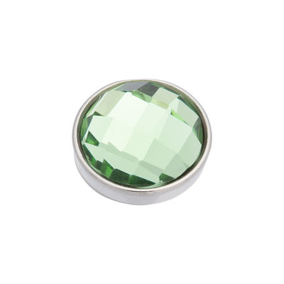 iXXXi Top Part Facet Green Zilverkleurig