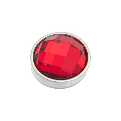 iXXXi Top Part Facet Red Zilverkleurig