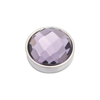 iXXXi Top Part Facet Purple Zilverkleurig